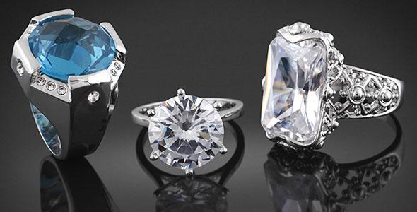 تصویر پس زمینه مجموعه انگشتر الماس