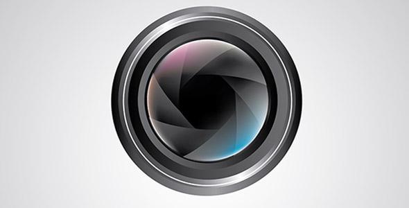وکتور لنز دوربین عکاسی