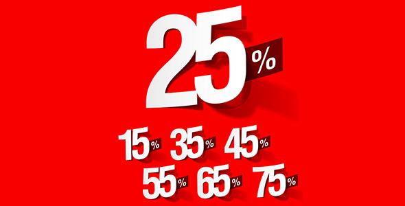 تصویر درصد فروش یا تخفیف