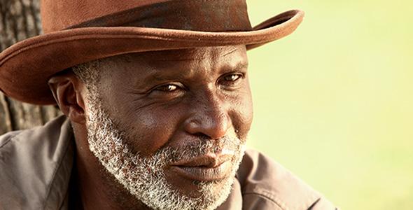 تصویر پرتره مرد آفریقایی
