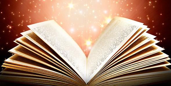تصویر کتاب جادو و کتاب داستان