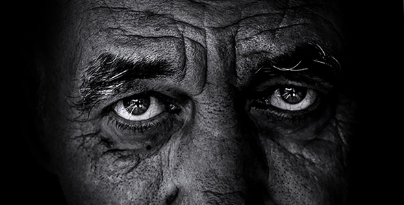 تصویر پرتره مرد سالخوره