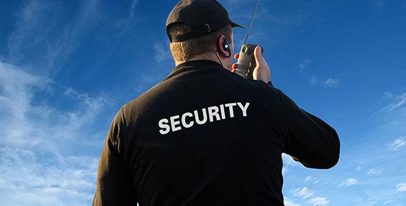 تصویر پس زمینه انسان گارد امنیتی