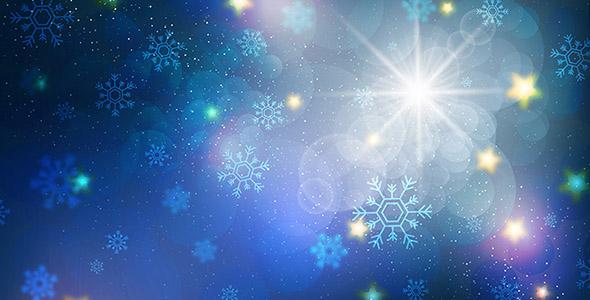 وکتور پس زمینه نورانی و درخشان کریسمس