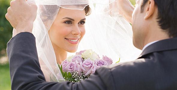 تصویر عروس و داماد در روز عروسی