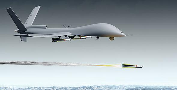 تصویر پس زمینه هواپیمای بدون سرنشین