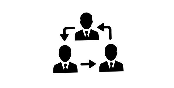 آیکون با مفهوم ساختار سلسله مراتبی