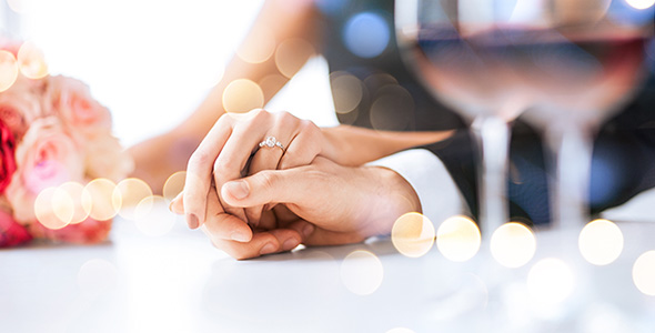 تصویر پس زمینه با مفهوم ازدواج و عشق