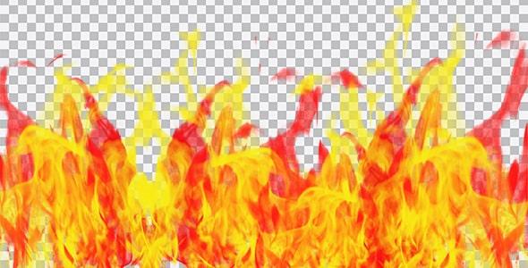 تصویر PNG شعله های آتش