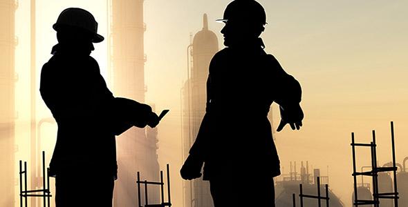 تصویر ضدنور مهندس و معمار در ساختمان