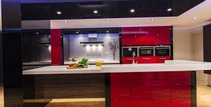 تصویر طراحی مدرن دکوراسیون آشپزخانه