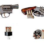 تصویر اسلحه با گلوله 9 میلیمتری