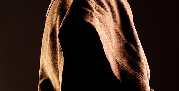 تصویر پرتره انسان بدون صورت و ناشناس