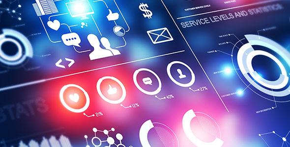 تصویر پس زمینه تکنولوژی و تجارت