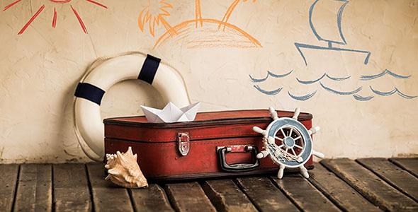تصویر با مفهوم مسافرت و گردشگری