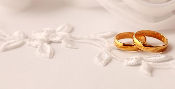تصویر حلقه طلا ازدواج و عروسی