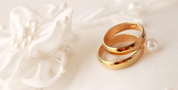 تصویر پس زمینه حلقه عروسی و ازدواج