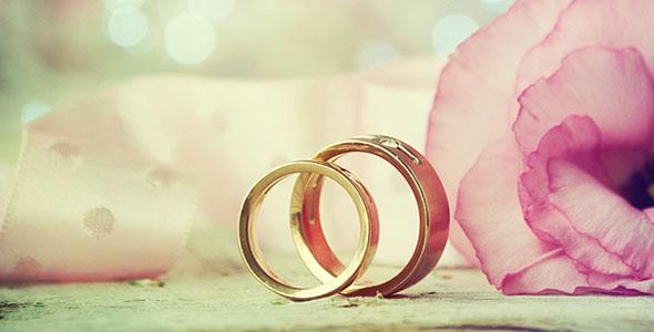 تصویر حلقه عروسی و ازدواج