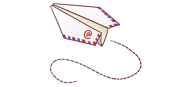 فایل لایه باز هواپیمای کاغذی طرح اوریگامی