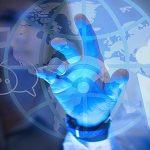 تصویر با مفهوم اینترنت و تجارت آنلاین