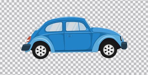 تصویر PNG ماشین لوکس و کلاسیک قدیمی