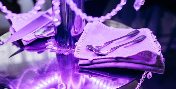 تصویر اشیا و ابزار برش کیک