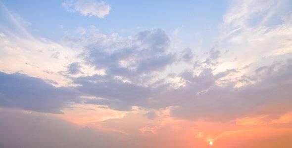 تصویر هوای ابری و گرگ و میش
