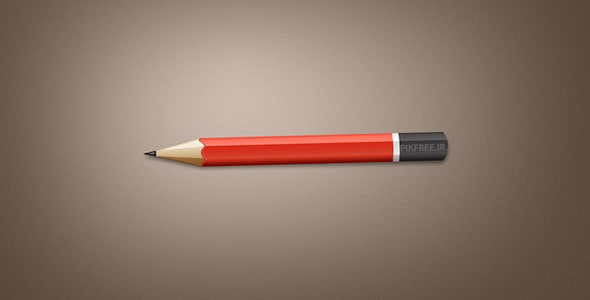 فایل لایه باز موکاپ مداد