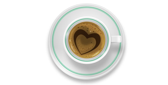 فایل لایه باز فنجان قهوه