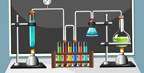 وکتور تجهیزات آزمایشگاه شیمی
