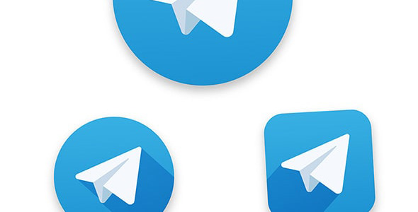 وکتور آیکون تلگرام
