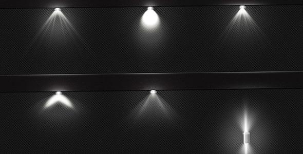 فایل لایه باز افکت لامپ نورانی