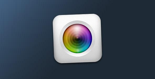 فایل لایه باز آیکون اپلیکیشن دوربین