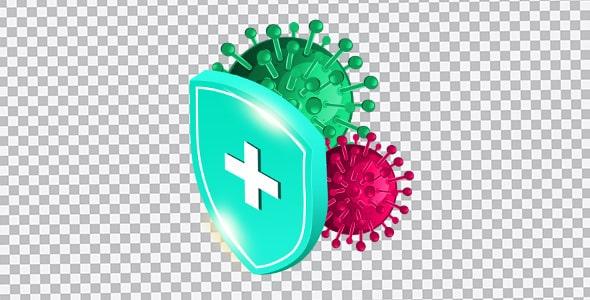 تصویر PNG حفاظت در برابر ویروس کرونا