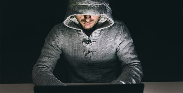 تصویر پس زمینه هکر و لپ تاپ