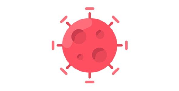 آیکون ویروس کووید 19
