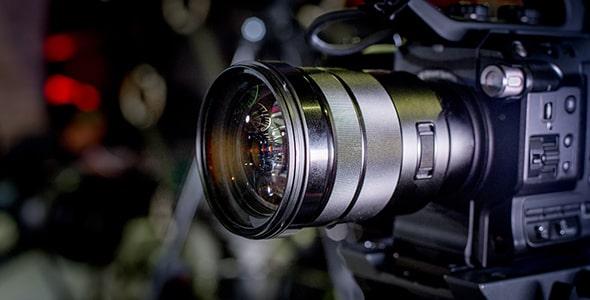 تصویر پشت صحنه فیلم و دوربین فیلمبرداری