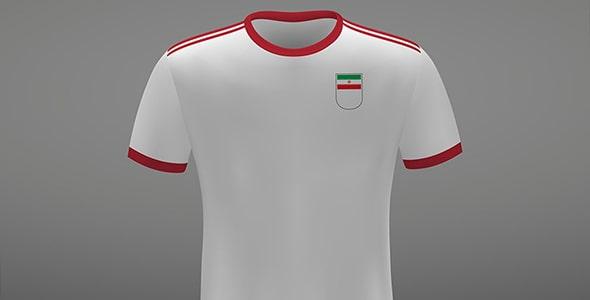 وکتور کیت لباس تیم ملی فوتبال ایران