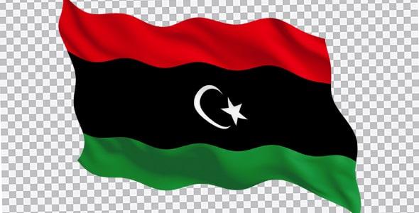 تصویر PNG پرچم کشور لیبی