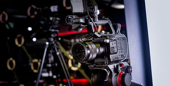 تصویر دوربین فیلمبرداری و پشت صحنه فیلم