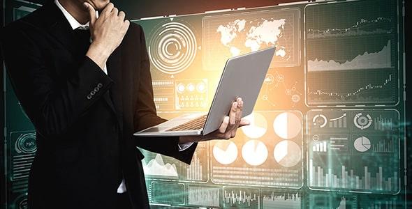 تصویر با مفهوم فناوری در کسب و کار و تجارت