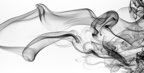 تصویر پس زمینه طراحی انتزاعی دود سیاه