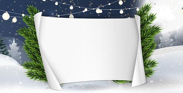 وکتور فصل زمستان و جشن کریسمس