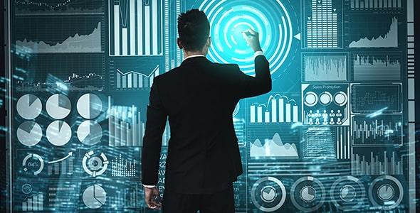 تصویر پس زمینه فناوری در تجارت و کسب و کار