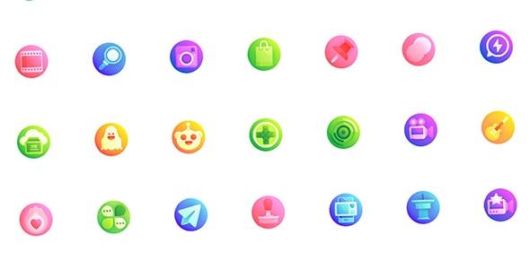 مجموعه 70 آیکون طراحی UI و UX