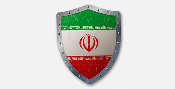 وکتور سپر قدیمی با پرچم ایران