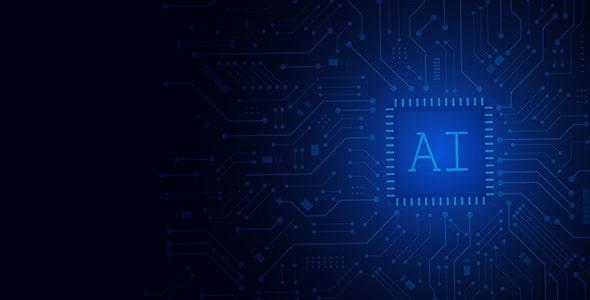 وکتور با مفهوم فناوری و هوش مصنوعی