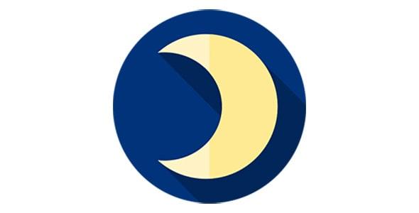 آیکون هلال ماه