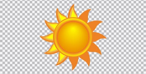 تصویر PNG آفتاب و خورشید تابان