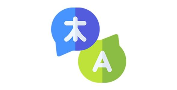 آیکون ترجمه یا ترنسلیت